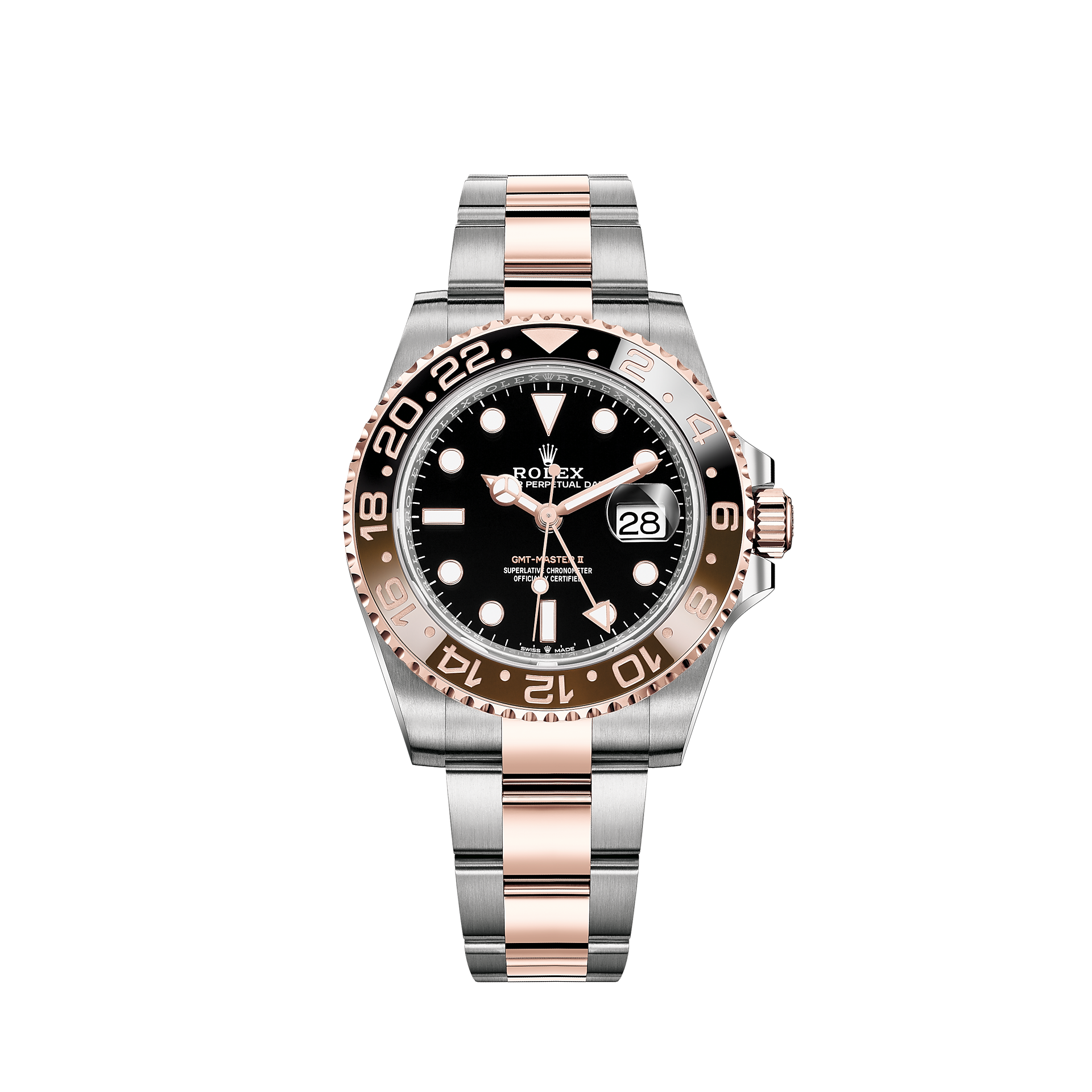 Rolex Gmt Master Ii Watch Everose Rolesor Combination Of Oystersteel And 18 Ct Everose Gold M126711chnr 0002