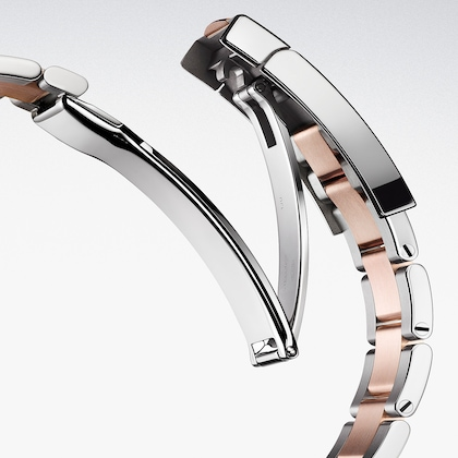 Watchmaking bracelet oysterlock element
