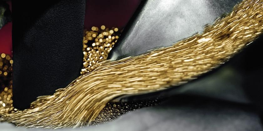 Goldkügelchen