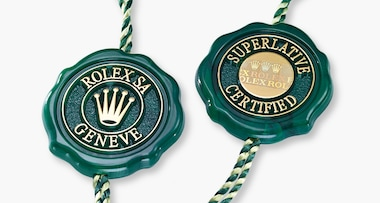 Superlative Chronometer (COSC + Rolex certification after casing)