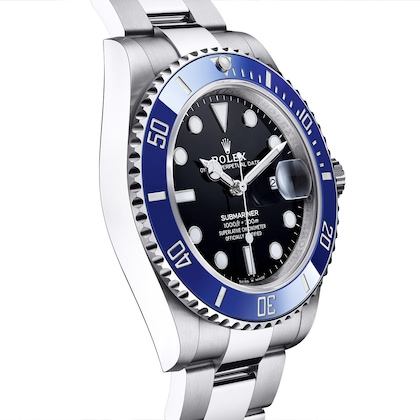 New Submariner blue bezel