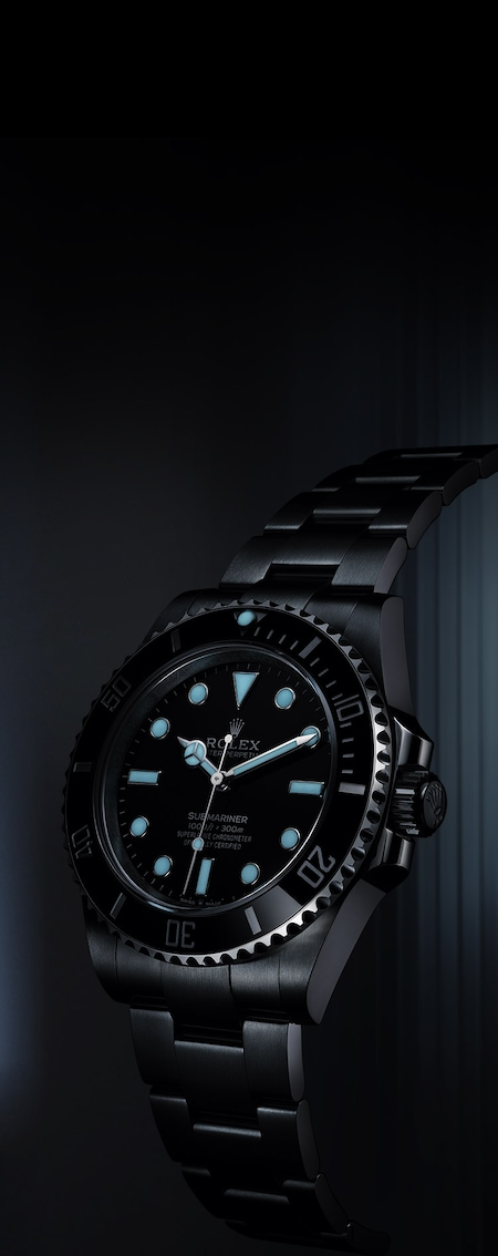 New Submariner Chromalight night
