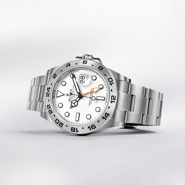 Explorer II white dial