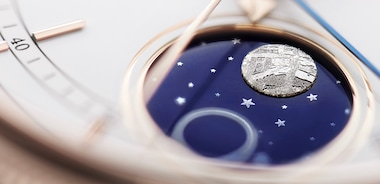 Fasi lunari sul Cellini Moonphase