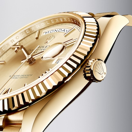 L'eleganza del Day‑Date in oro giallo