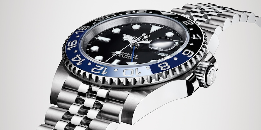 GMT-MASTER II blue black bezel