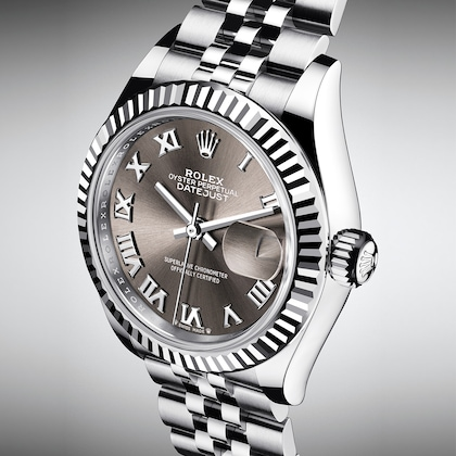 Lady Datejust fluted bezel