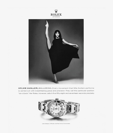 Lady Datejust  One of the most acclaimed dancers of her generation
