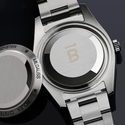 Milgauss case back