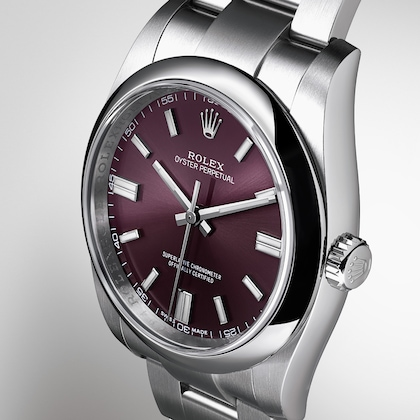 Oyster Perpetual صفحه grape