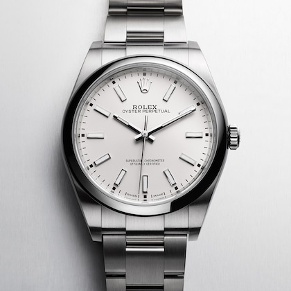 Oyster Perpetual صفحه سفید