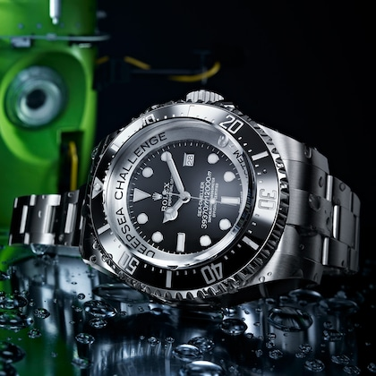 Sea-Dweller Don Walsh dan Jacques Picard