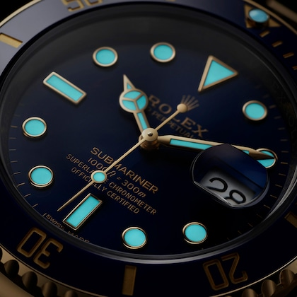 Submariner luminescence