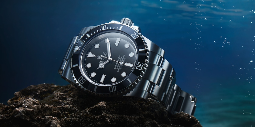 Submariner underwater beauty