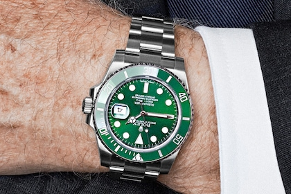 ERTAS Don Walsh Oyster Perpetual Submariner Date