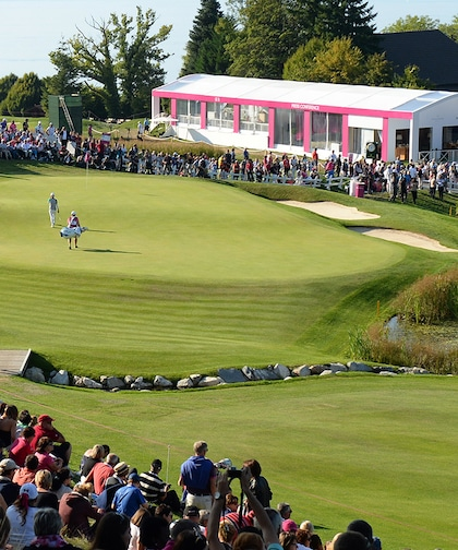 The Evian Championship cover