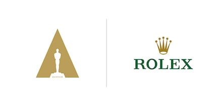 Rolex and Cinema ampas logo