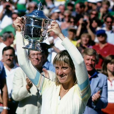US Open Chris Evert